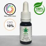 huile CBD full spectrum 10%