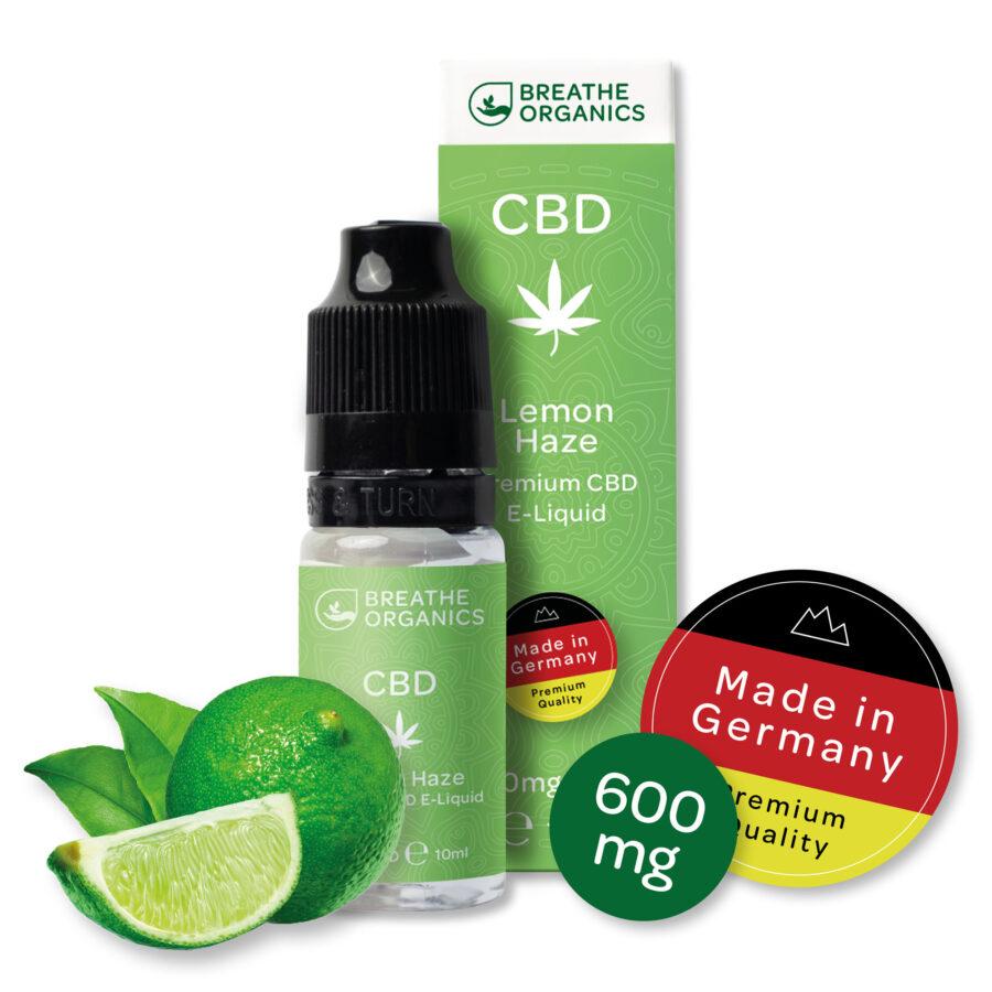 E-liquide CBD citron vert